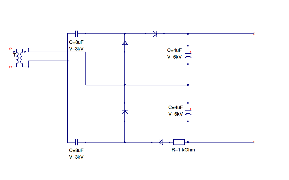 building a 10kv dc power supply products of mike s mind rectifier multiplier circuit diagram