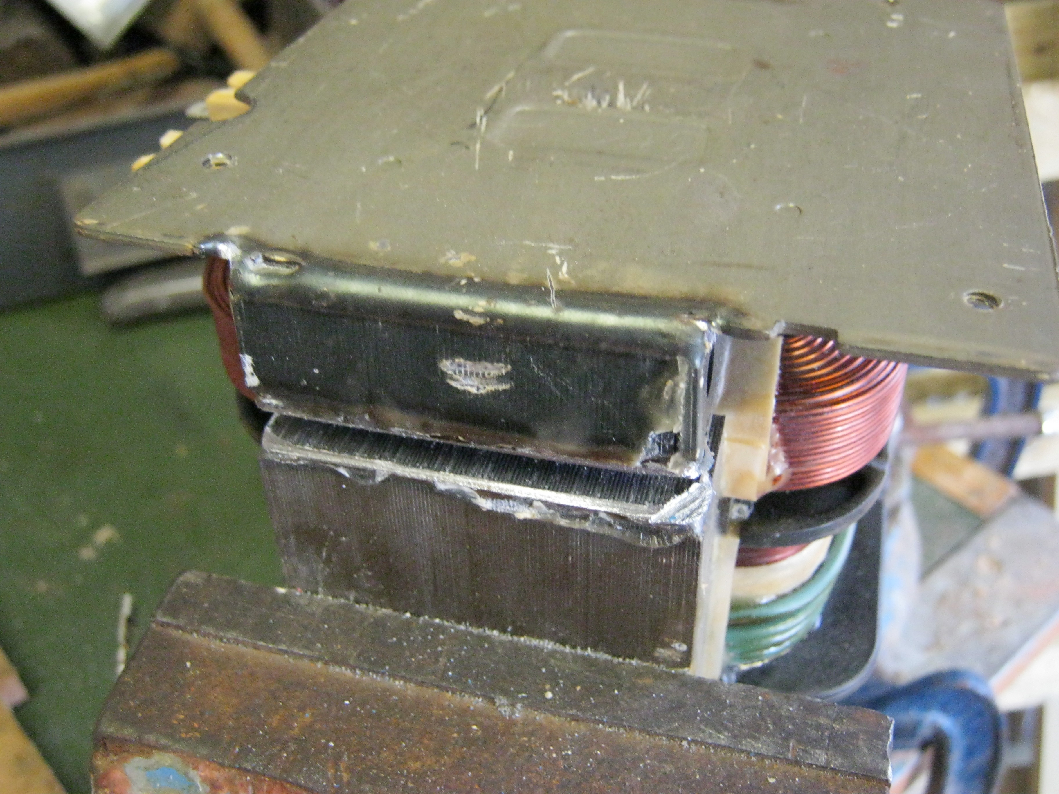 Adding A Current Limiter To My Mot Welder Products Of Mikes Mind Power Supply With And Stand Alone Opened Up Seam