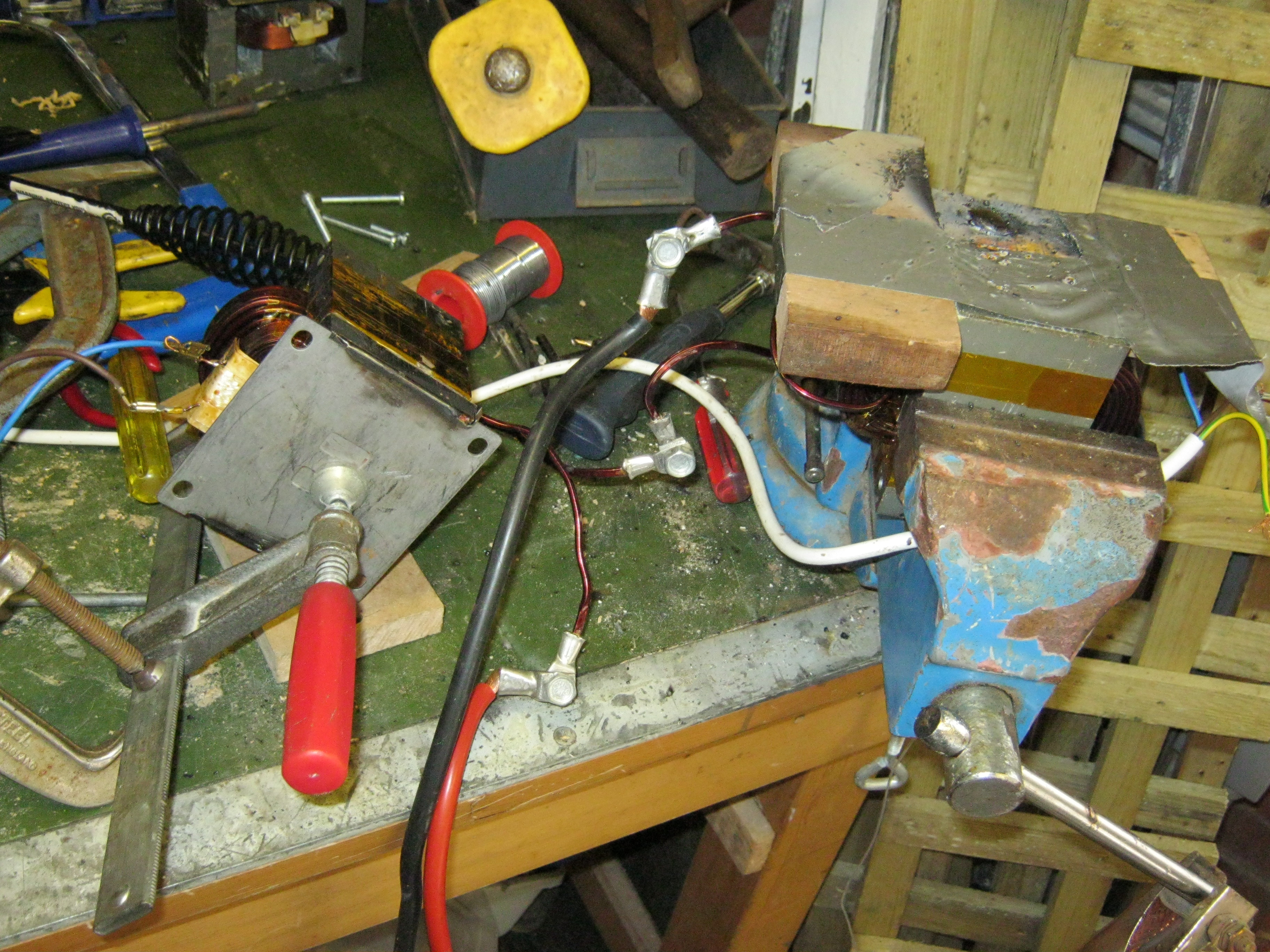 Adding A Current Limiter To My Mot Welder Products Of Mikes Mind Wiring 50 Amp Plug Welding The